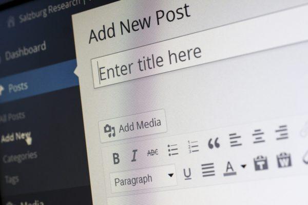 So jy wil ook blog?